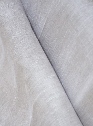 Natural Double-wide Linen Fabric