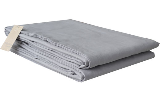 100% Natural linen Sheet, Light Gray
